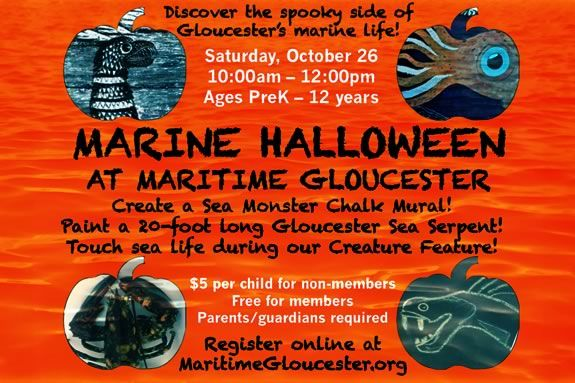 Discover the spooky side of Gloucester's marine life at Maritime Gloucester