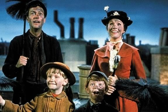 School gets out early and kids are invited to NTL to watch the Disney Classic Mary Poppins