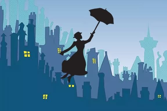 Mary Poppins brings stories and songs to the Ipswich Library druing April vacation week!