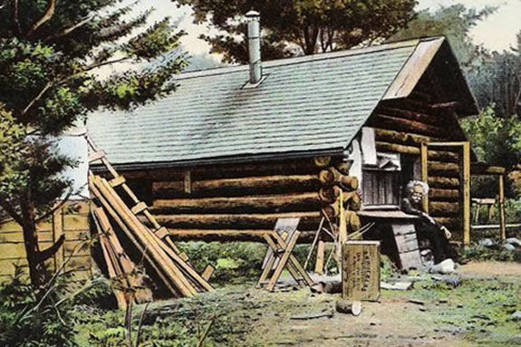 From 1884 – 1917, Mason A. Walton lived a hermit's life in Ravenswood Park