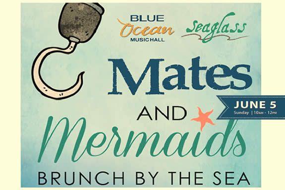 Brunch by the Sea w/ The Little Mermaid + Captain Jack Sparrow