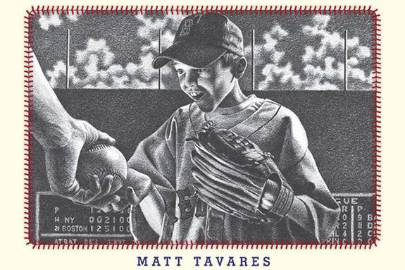 Zachary's Ball is a wonderful baseball story by Matt Tavares.