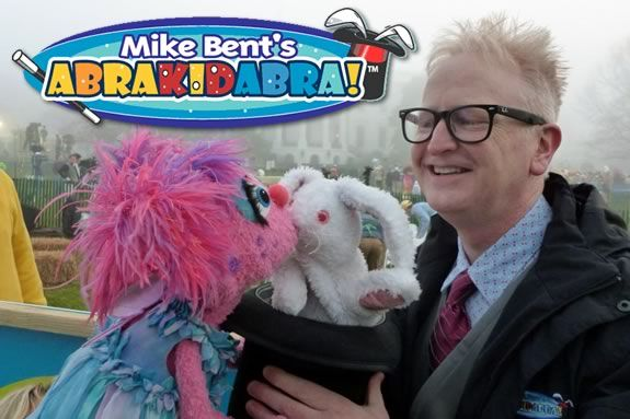 Come see Mike Bent's AbraKIDabra at Danvers Public Library!