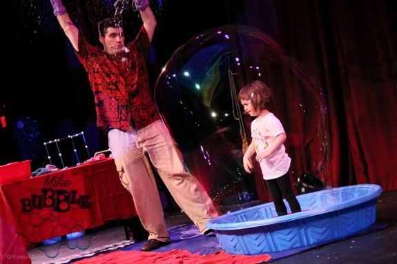 Come see Mike the Bubble Man at the Firehouse Center for the Arts in Newburyport!