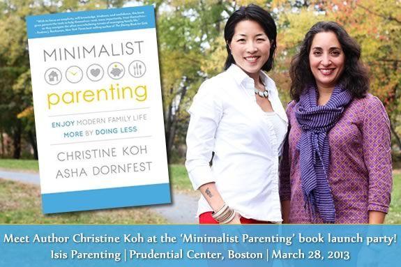 Meet the Authors of Minimalist Parenting Christine Koh and Asha Dornfest!