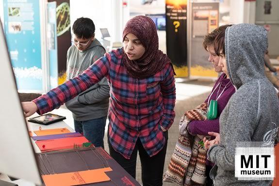 Citizen Science Fair at MIT Museum in Cambridge Massachusetts