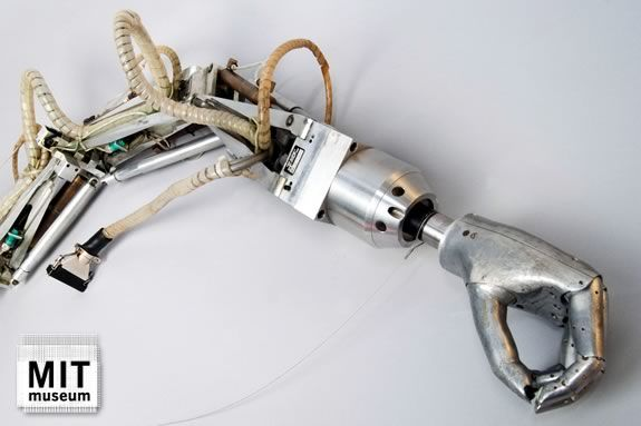 Minsky Arm, created by Marvin Minsky on display at the MIT Museum!