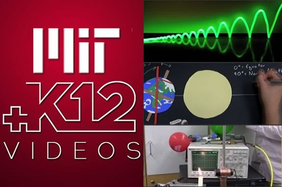 MIT Museum Second Friday January 2014 features MIT+K12 videos