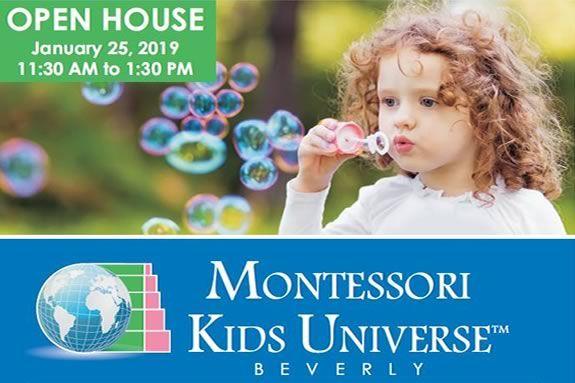 Montessori Kids Universe Preschool Beverly Open House