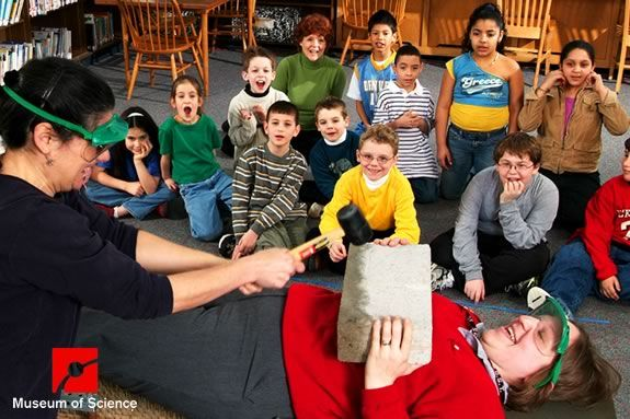Science Magic presented by Museum of Science at Danver Public Library!