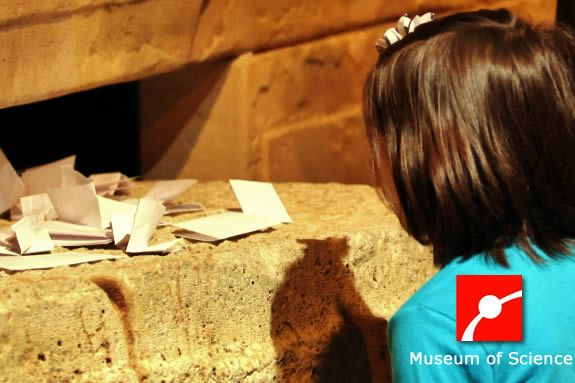 Vist MA MOS, Museum of Science in Boston, Dead Sea Scrolls: Life in Ancient Time