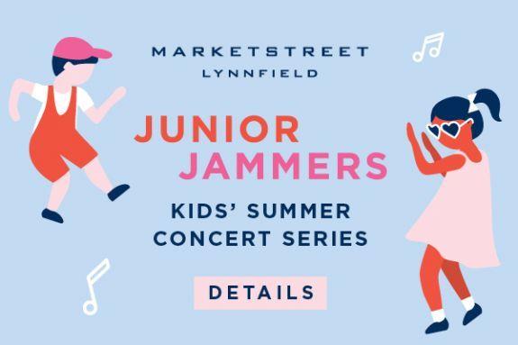 Kids Rock Concert Series at MarketStreet Lynnfield in Lynnfield MA