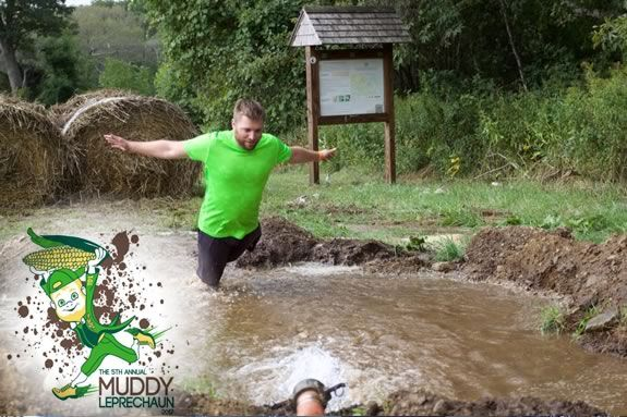 Muddy Leprechaun Race is a fundraiser for the Ipswich Family YMCA