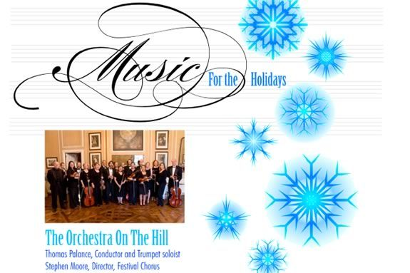 The Orchestra on the Hill will perform at Ipswich's Music for the Holidays!