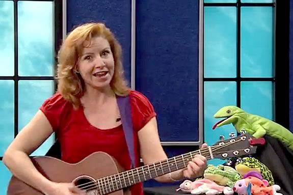 Sarah Gardner comes tot he Danvers Library for a fun morning of music.