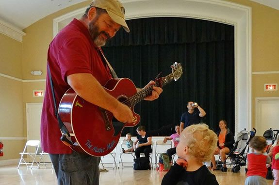Sing & Dance with the Music Man Brian Doser in Hamilton visit Massachusetts