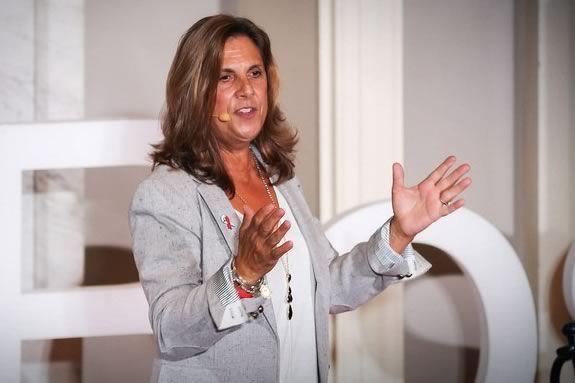 Nancy Frates is the founder of the ice bucket challenge - a fundraising idea that spread around the globe.