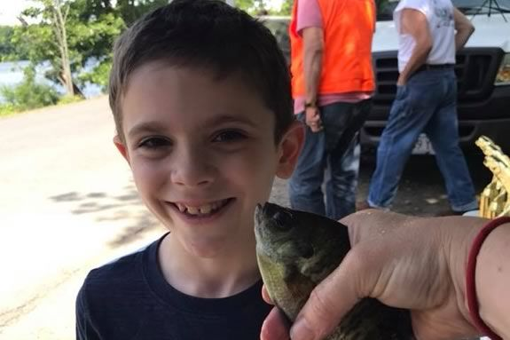 """Newburyport Youth Services hosts their 9th Annual """"Get Hooked"""" Fishing Derby."""