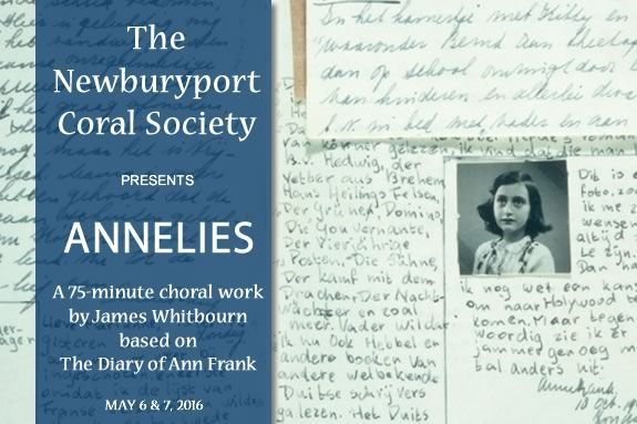 Newburyport Choral Society Spring Concert features ANNILIES by James Whitbourn