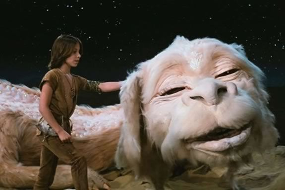 Come watch a FREE showing of The Neverending Story on the waterfront in Gloucester MA