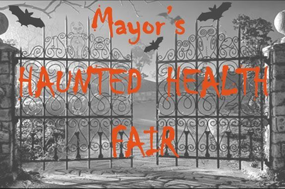 The Mayor's Health Fair has trick or treating and lots of fun activities!
