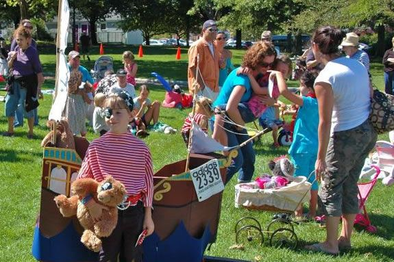 The Newburyport Labor Day Festival is for family and kids!