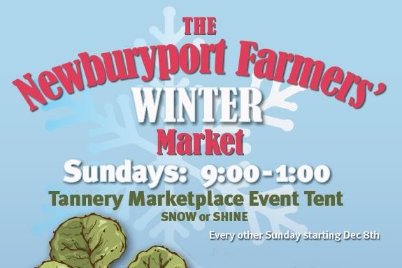 The Newburyport Farmers Winter Market is held on the 1st and 3rd Sunday
