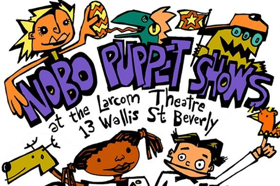 NoBo Puppet Show at the Larcom Theater in Beverly Massachusetts presented by Mudeye Puppet Co.