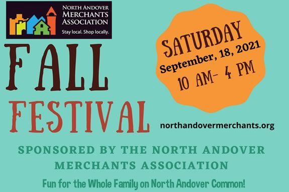 North Andover Merchants Association Annual Fall Festival. Merrimack Valley