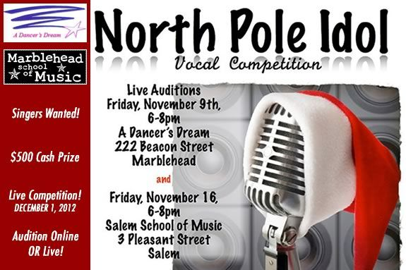 North Pole Idol is looking for singers on the North Shore!