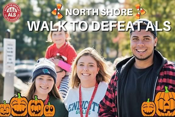 North Shore Walk to Deat ALS at Endicott College in Beverly MA