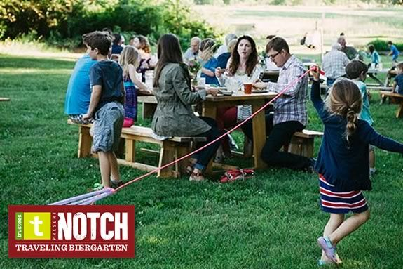 Come to the Notch Brewery Biergarten at the Trustees of Reservations' Appleton Farms in Ipswich!