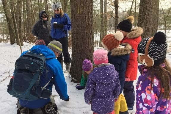 North Shore Nature Program Winter Wilderness Festival at Camp Denison