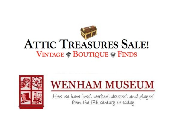 The Attic Treasures Sale is an opportunity to find great stuff for a good cause!
