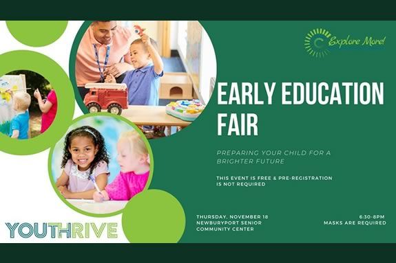 Newburyport Youth Services host an early education fair for families looking to place their little ones in preschool.