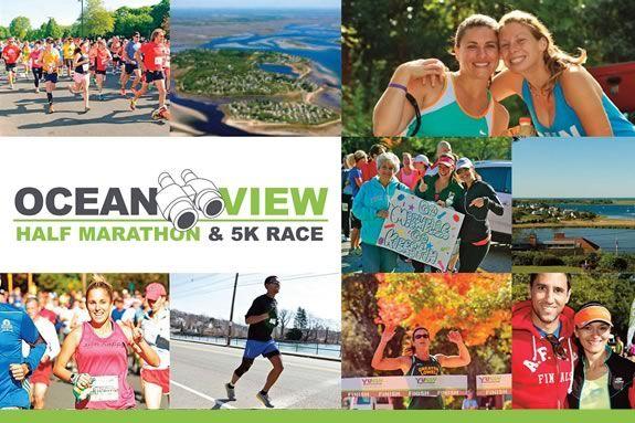 The Ocean View 5k & Half Marathon Ipswich Massachusetts