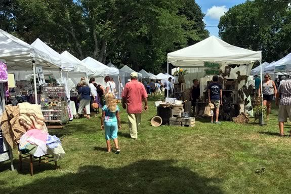 Olde Ipswich Days brings art, crafts, food and music to the S. Village Green in Ipswich Massachusetts!