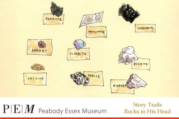 Story Trails at PEM: Rocks in His Head
