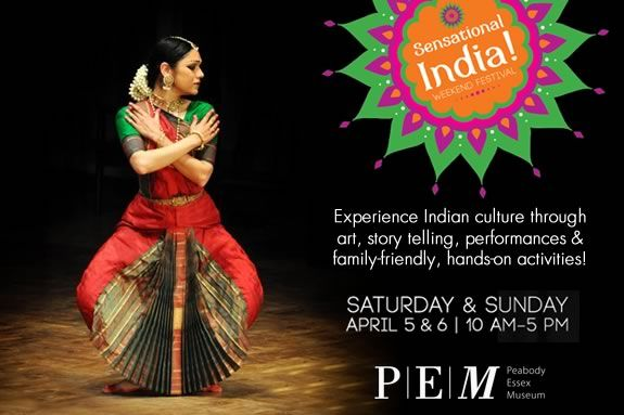 Peabody Essex Museum's Sensational India is a family-oriented weekend festival f