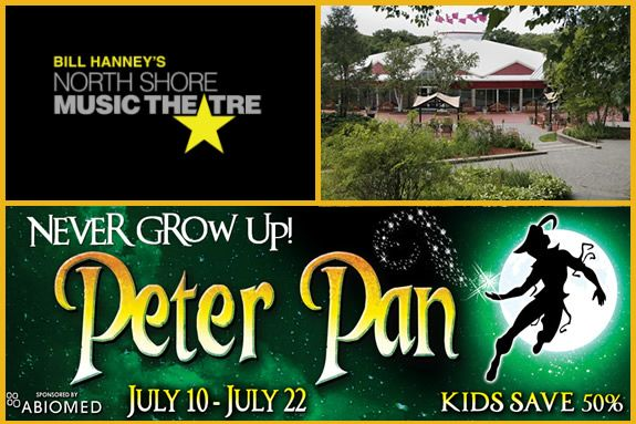 Live performances for the whole family at North Shore Music Theater
