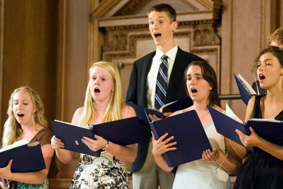 The Phillips Academy Chorus Concert is free and open to the public