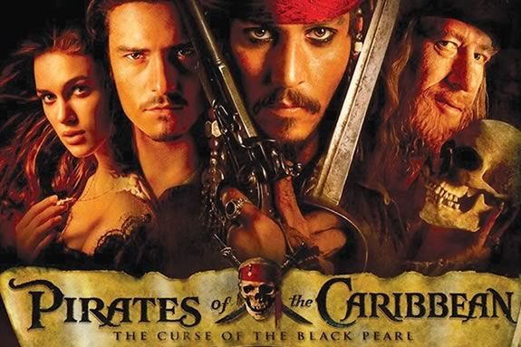 Come watch a FREE showing of Pirates of the Caribbean on the waterfront in Gloucester MA