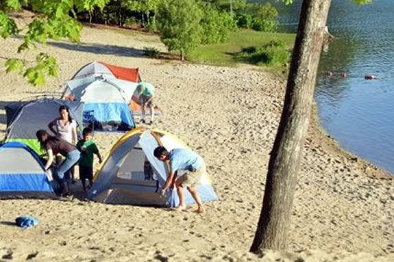 Pomps Pond Family Campout hosted by Andover Recreation!