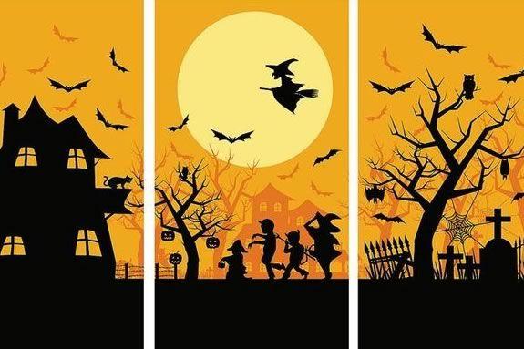 American Legion Post 194 hosts a Halloween Partyin Hamilton Massachusetts.