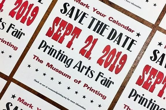 Printing Arts Fair in Haverhill - part of Trails and Sails!