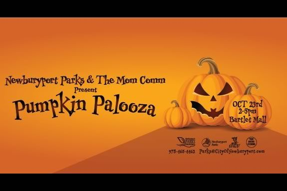 Pumpkin Palooza is a fun family afternoon with live music, Parades, Trick or Treating, hayrides and more in Newburyport Massachusetts
