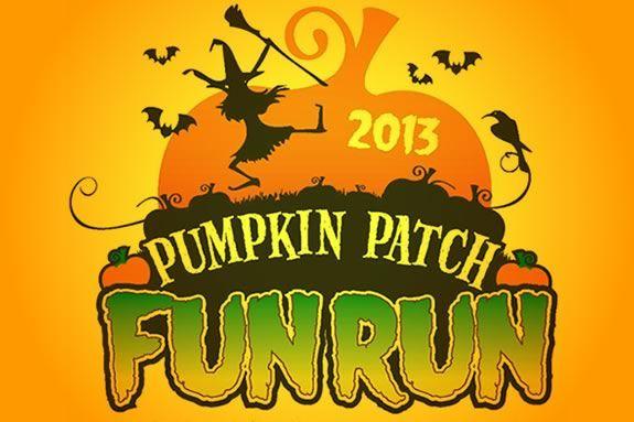 The Pumpkin Patch Fun Run ofr kids is a fundraiser for the Jeanne Geiger Center