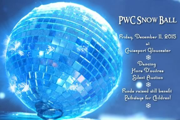 The Snow Ball at Cruiseport Gloucester raises funds to benefit Pathways for Children!