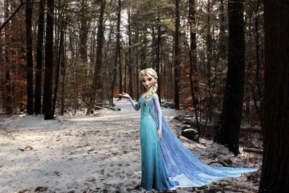 Come to Ravenswood Park in Gloucester and meet Elsa!