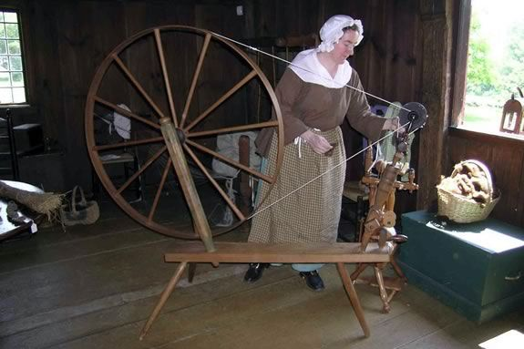 Learn about the ancient skills of spinning and weaving at the Rebecca Nurse Homestead in Danvers!